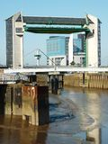 Barrière de marée photographie stock libre de droits