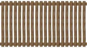 Barrière de pâlissement en bois Image libre de droits