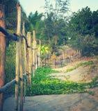 Barrière de plage Photos libres de droits