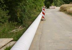 Barrière de route Photos libres de droits
