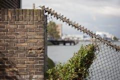 Barrière de sécurité Photos stock