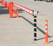 Barrière de stationnement Photographie stock libre de droits