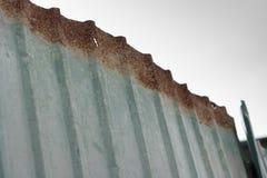 Barrière de zinc Photographie stock