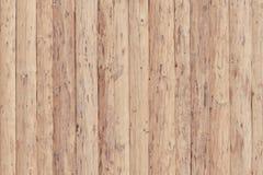 Barrière des conseils en bois non traités Photos libres de droits