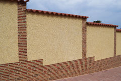 Barrière des puces de marbre avec l'équilibre Image stock