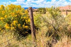 Barrière du Nouveau Mexique Images stock