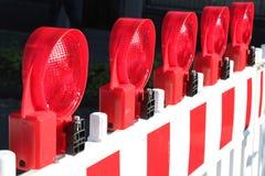 Barrière du trafic images libres de droits