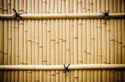 Barrière en bambou en plastique au Japon Photographie stock libre de droits