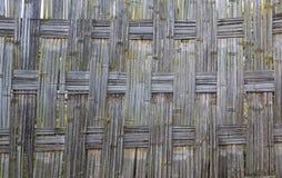 Barrière en bambou traditionnelle de Dorze Village de Hayzo Vallée d'Omo Ethio photo stock