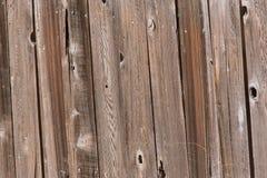 Barrière en bois Photographie stock