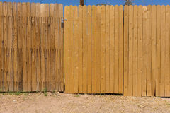 Barrière en bois Image stock
