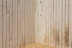 Barrière en bois Photo libre de droits