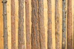 Barrière en bois combinée Image stock