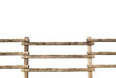 Barrière en bois grunge photographie stock libre de droits