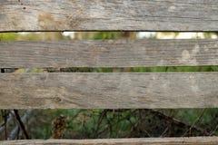 Barrière en bois rurale I Photographie stock libre de droits
