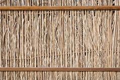 Barrière en bois sèche Image stock