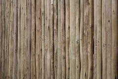 Barrière en bois sale Photographie stock