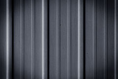 Barrière en métal Photo stock