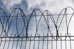 Barrière en métal Photo libre de droits