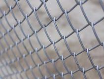 Barrière en métal Photos libres de droits