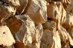 Barrière en pierre Photos stock