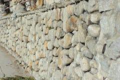 Barrière en pierre Photographie stock libre de droits