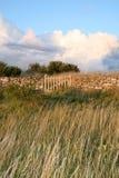 Barrière en pierre Photographie stock