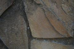 Barrière en pierre dans le style médiéval images stock