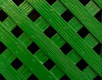 Barrière entrecroisée verte Pattern Background de trellis photo libre de droits