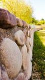 Barrière faite de pierres Photos libres de droits