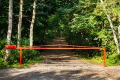 Barrière fermée Image libre de droits