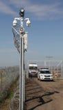 Barrière hongroise 02 de frontière Images stock
