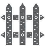 Barrière Isolated Vector Icon qui peut être facilement modifiée ou éditée illustration de vecteur