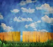 Barrière jaune Image libre de droits