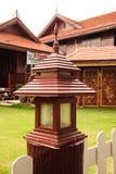 Barrière Lamp Photographie stock libre de droits