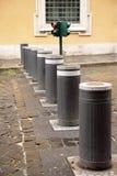 Barrière op weg Stock Foto