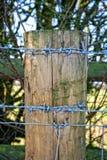 Barrière Post Photo libre de droits