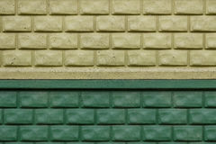 Barrière verte image stock