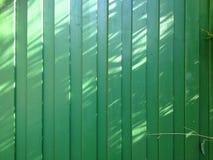Barrière verte Photographie stock libre de droits