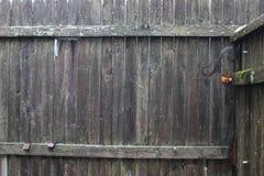 Barrière-vieux -fond porté Photo stock