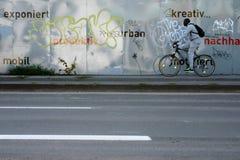 Barrière Wiesbaden en métal Images libres de droits