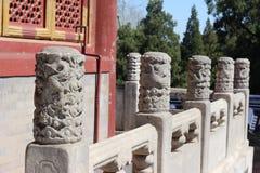 Barrières de dragon dans Cité interdite dans Pékin photos libres de droits