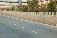 Barrières de route Photographie stock