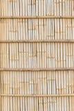 Barrières en bambou dans les zones rurales image libre de droits