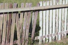 Barrières en bois image stock