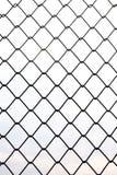 Barrières en métal dans la verticale image libre de droits