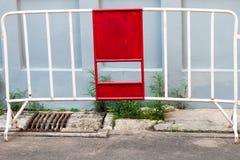 Barrières pour la conception et isolat de décoration sur le fond photographie stock libre de droits