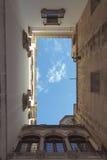 Barri Gothic sky Stock Image