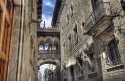 Barri Gotic, Barcelona Stock Photography