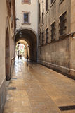 Barri Gotic  in Barcelona Royalty Free Stock Photography